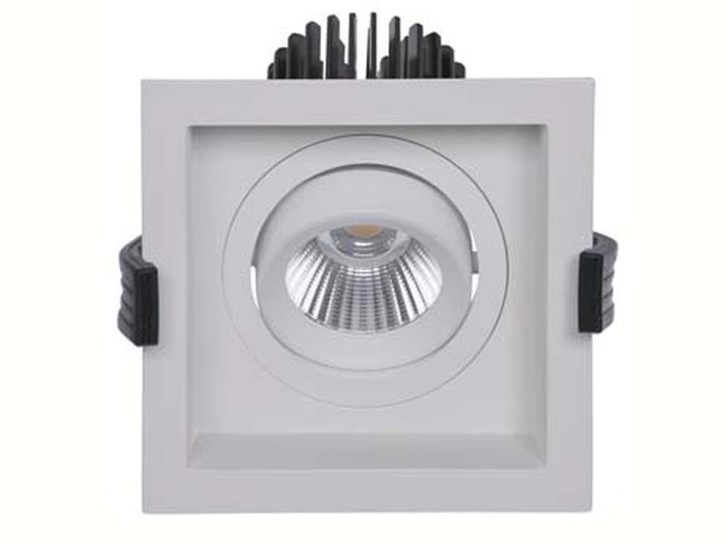 LED встраиваемый светильник IP20, Световые технологии RADO 07 WH D45 3000K [1278000010]