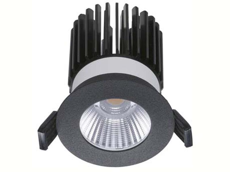 LED встраиваемый светильник IP20, Световые технологии QUO 13 BL D45 4000K [1507000220]
