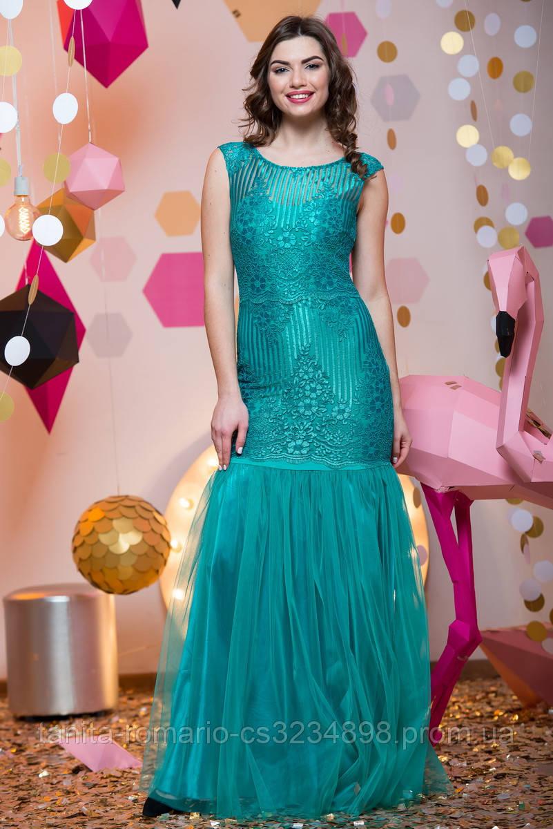Выпускное платье 7010e Бирюза M(р)