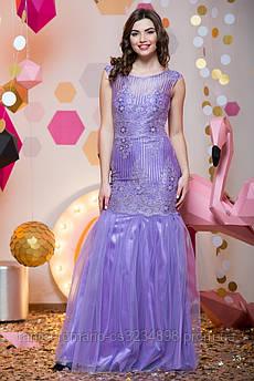 Выпускное платье 7010e Сиреневый M(р)