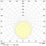 LED светильники c узким корпусом IP65, Световые технологии ARCTIC.OPL ECO LED 1200 TH 4000K [1088000240], фото 2
