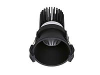 LED встраиваемый светильник IP20, Световые технологии FARO 13 BL D45 4000K [1542000260], фото 1