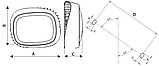 LED светильники IP65, Световые технологии TITAN 8 LED 5000K [1670000010], фото 3