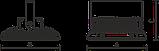 LED накладные светильники IP66, Световые технологии INSEL LB/S LED 80 D140 5000K [1334000350], фото 3