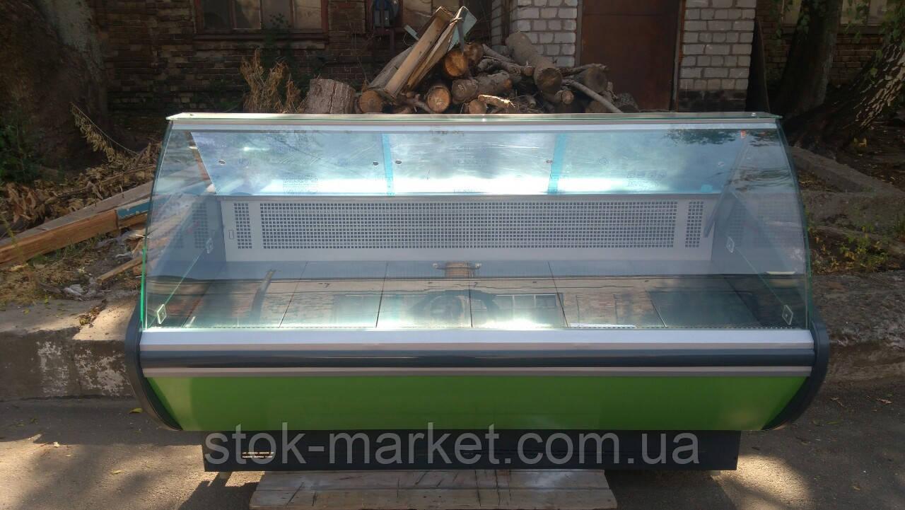 Холодильная витрина Технохолод Каролина бу. Витрина 2 м. идеальное состояние!, фото 1