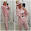 Теплая женская пижама на зиму Турция LA-4280