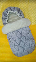 Конверт в коляску для новорожденных