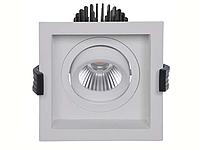 LED встраиваемый светильник IP20, Световые технологии RADO 13 WH D45 4000K [1278000030], фото 1