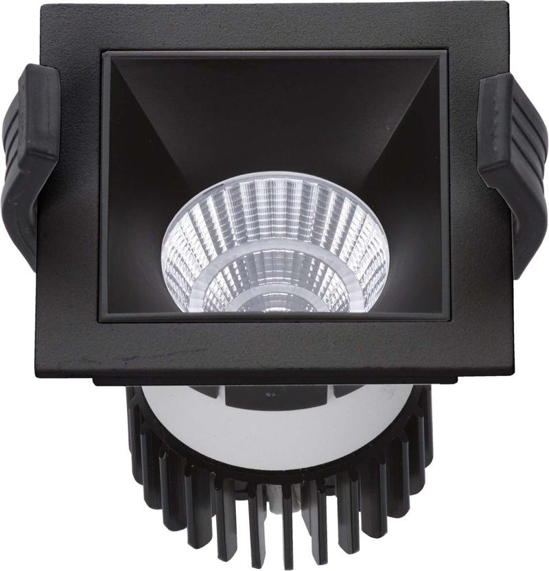 LED встраиваемый светильник IP20, Световые технологии SOON 07 BL/BL D45 4000K [1442000180]