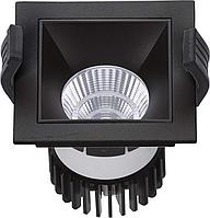 LED встраиваемый светильник IP20, Световые технологии SOON 07 BL/BL D45 4000K [1442000180], фото 1