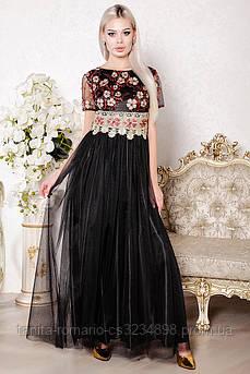 Вечернее платье 8004e Чёрный
