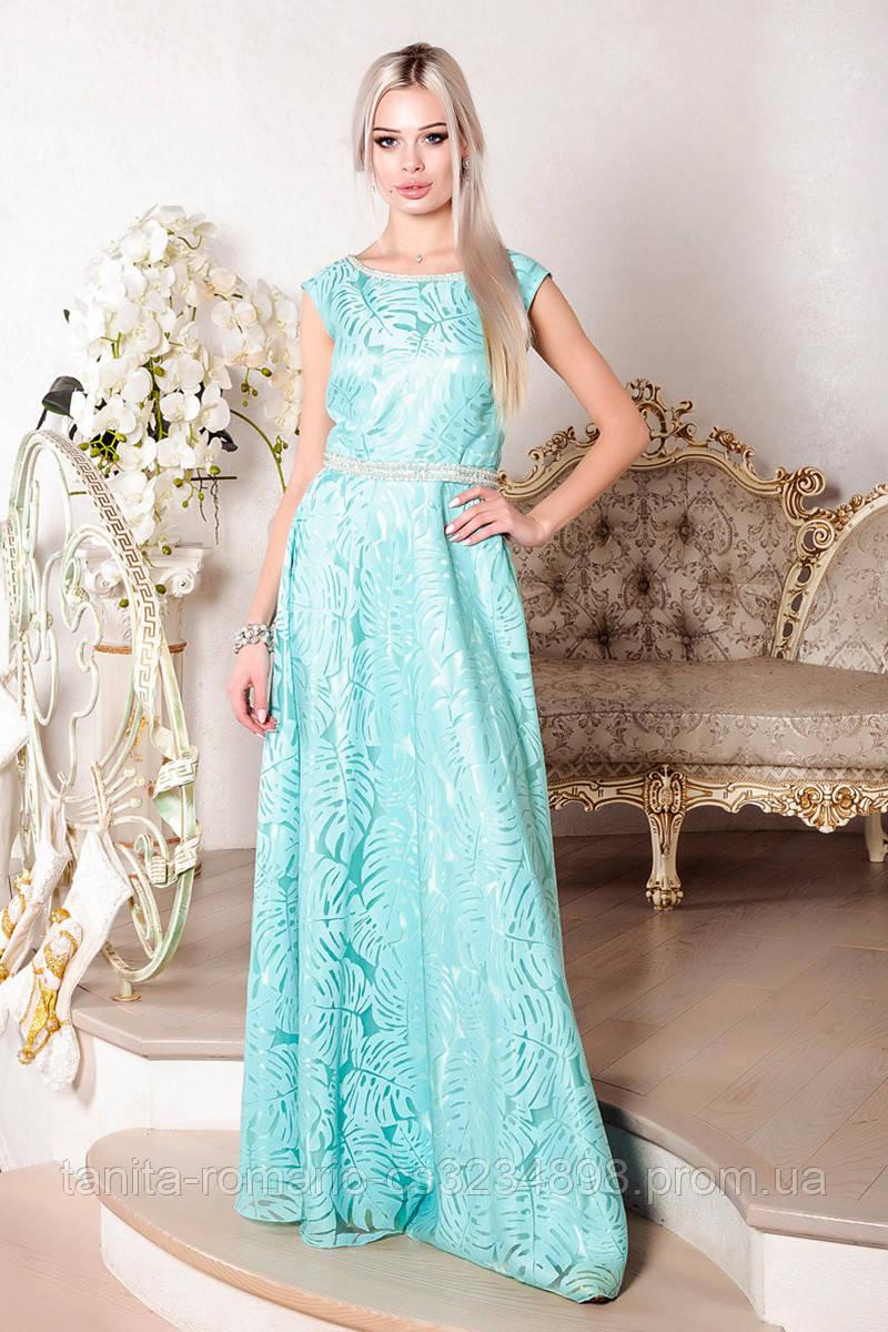 Вечернее платье 7090e Мятный M(р)