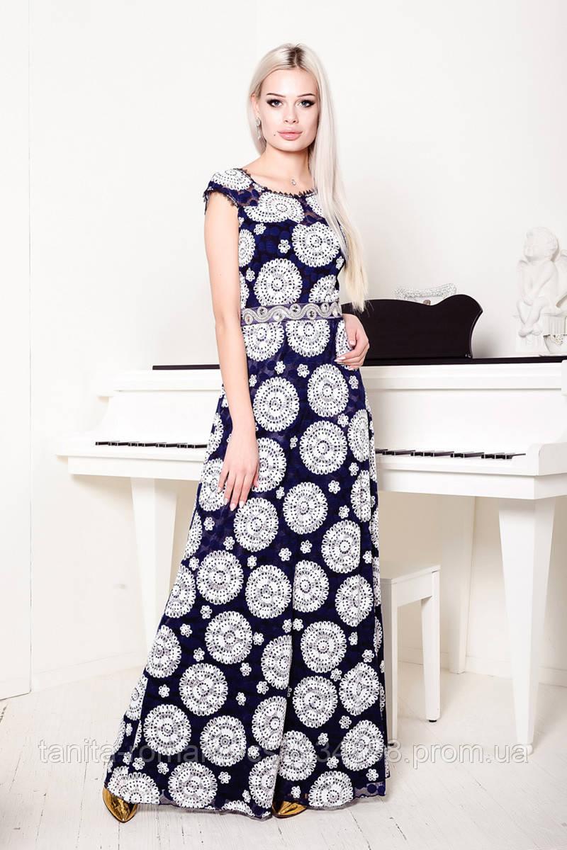 Вечернее платье 7103e Чёрный S(р)