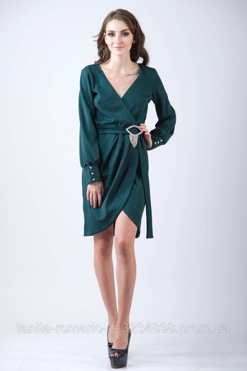Повседневное платье 7217e Бутылка S(р)