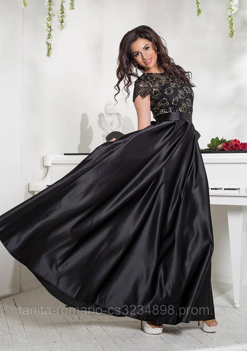 Вечернее платье 8038e Чёрный L(р)