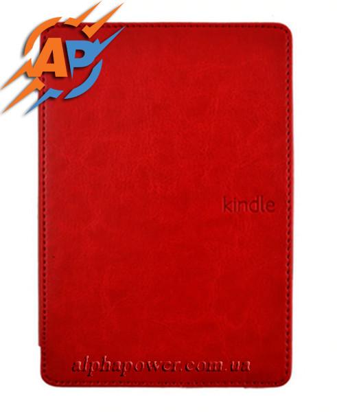 Обложка - чехол для электронной книги Amazon Kindle 4, 5 красный