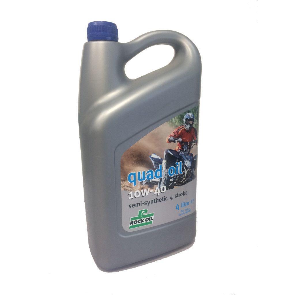 Масло моторное ROCK OIL Quad Oil 10W40, 4L