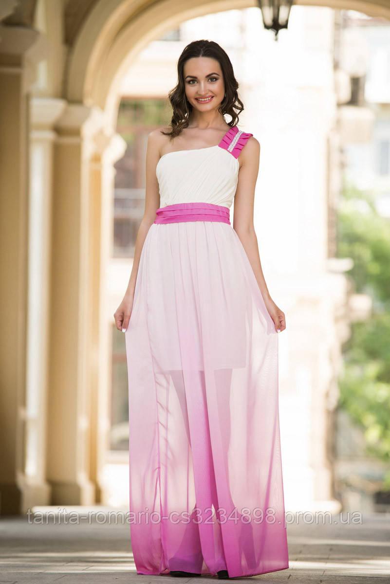 Вечернее платье 5048e Малиновый L(р)
