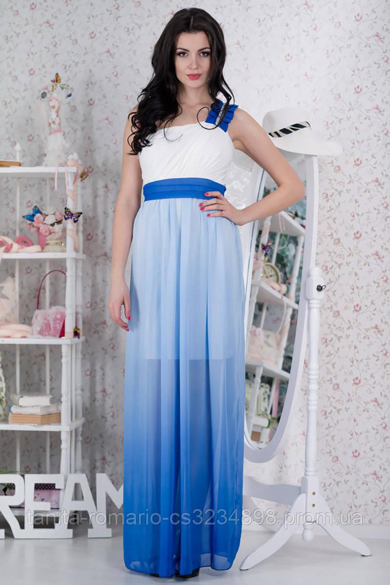 Вечернее платье 5048e Электрик L(р)