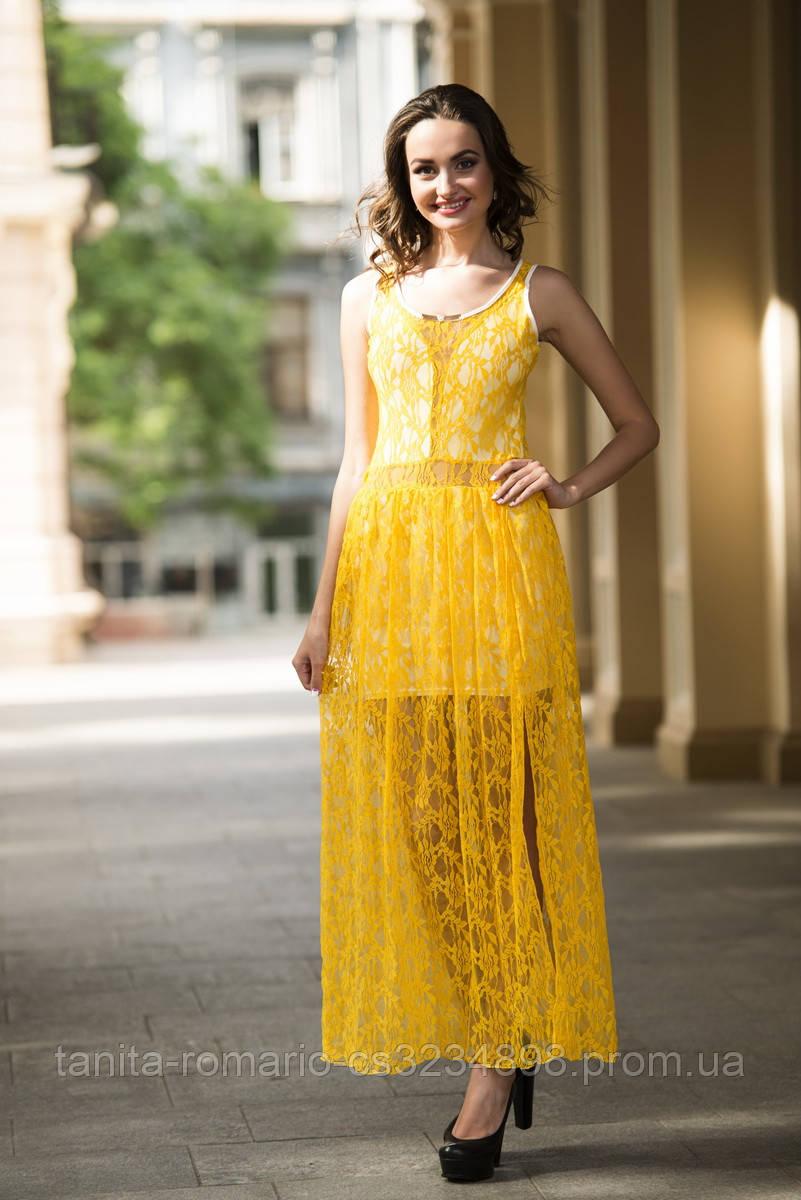 Повседневное платье 3201e Оранжевый M(р)
