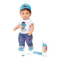 Кукла Baby Born Беби Борн Нежные объятия стильный братик пупс Brother Zapf Creation 826911