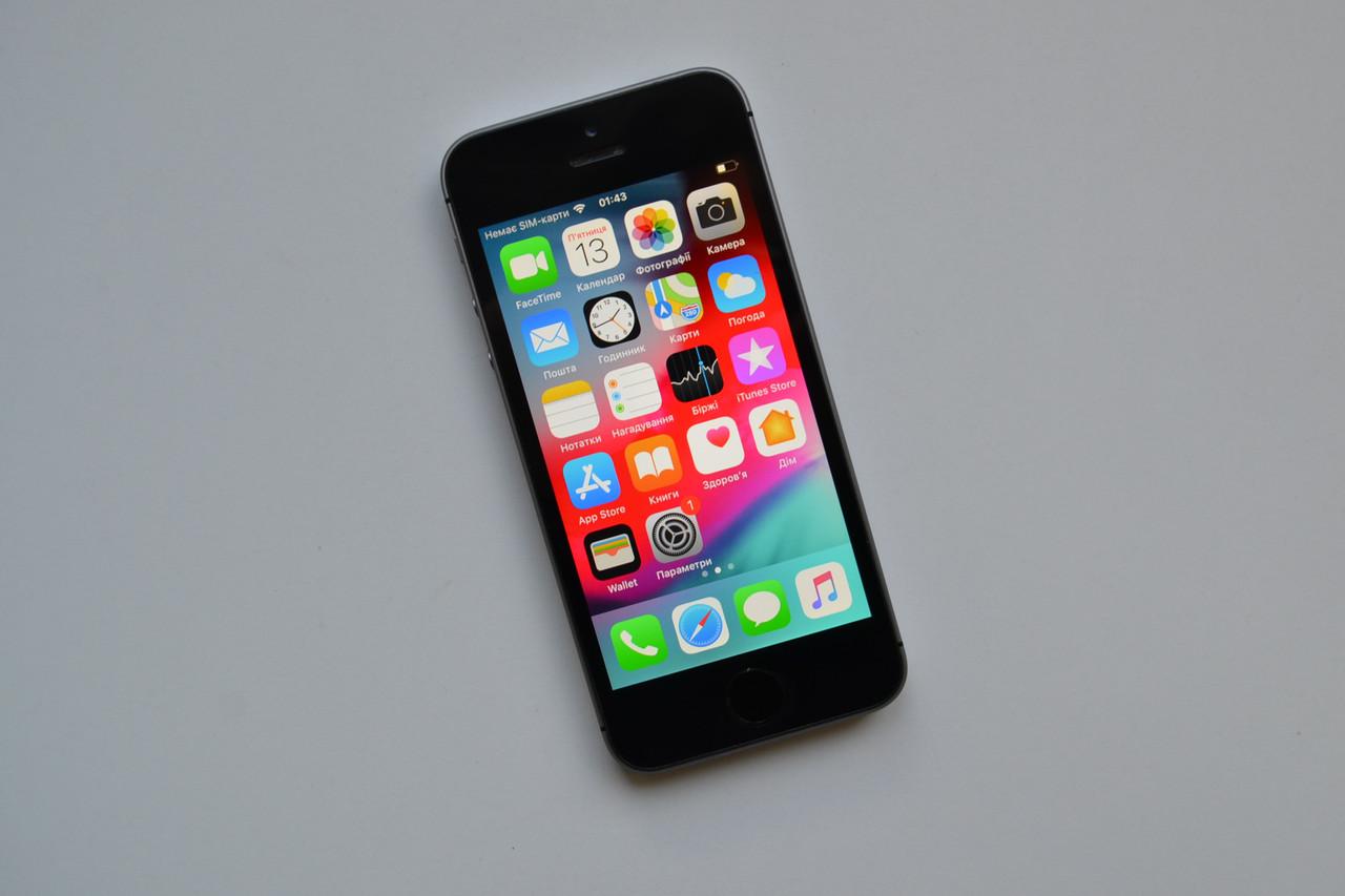 Apple Iphone SE 64Gb Space Gray Neverlock Оригинал!