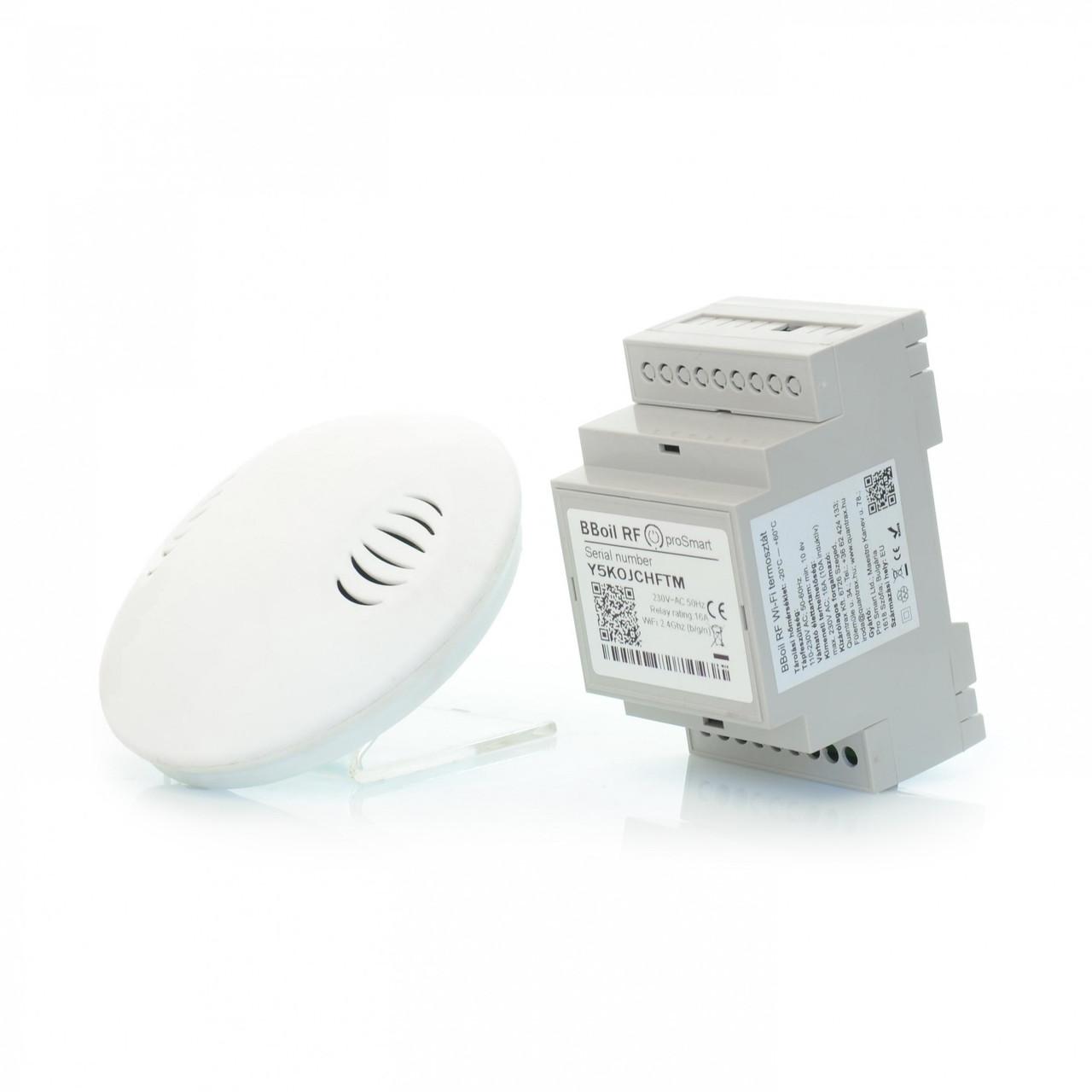 Беспроводной Wi-Fi терморегулятор COMPUTHERM B300 RF (ProSmart Bboil RF) компьютерм