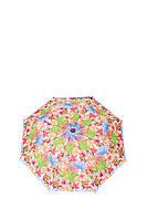 Зонт-полуавтомат Gianfranco Ferre GR-1_оранжевые цветы женский