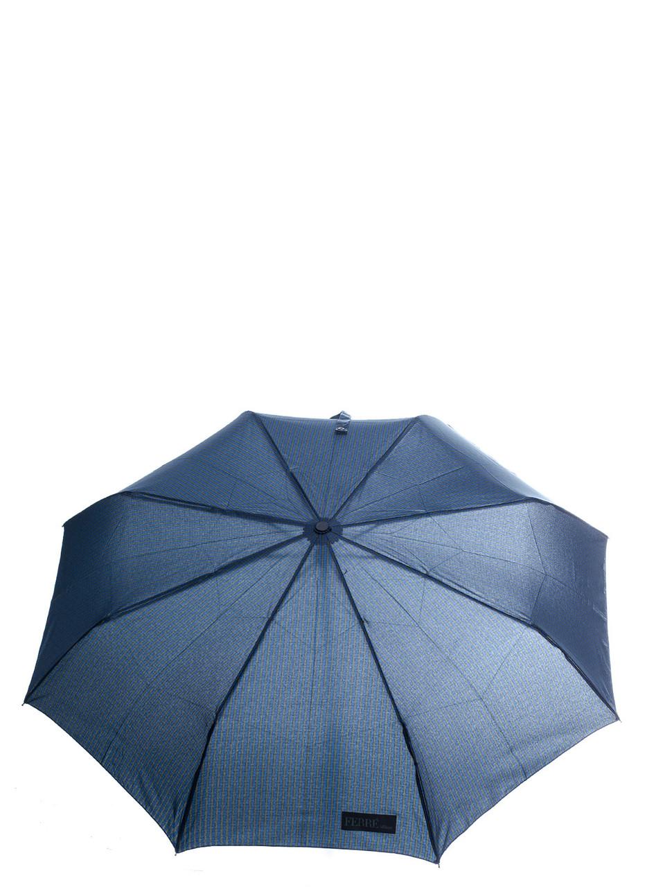 Зонт-автомат Gianfranco Ferre темно-синий мужской LA-3009