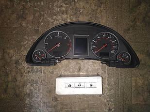 №6 Б/у Панель приборов/спидометр щиток приладів 8e0920950m Audi A4 b6 2001-2004
