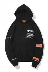 Худи Heron Preston x NASA Black/Orange