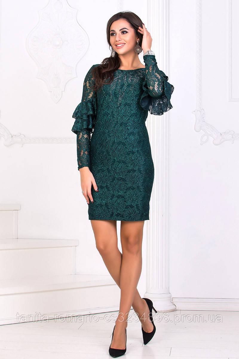 Коктейльное платье 8174e Бутылка L(р)