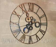 Настінний годинник Industrial/Кованые настенные часы Индастриал