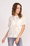 Стильная блузка с имитацией перьев (6101  ), фото 9