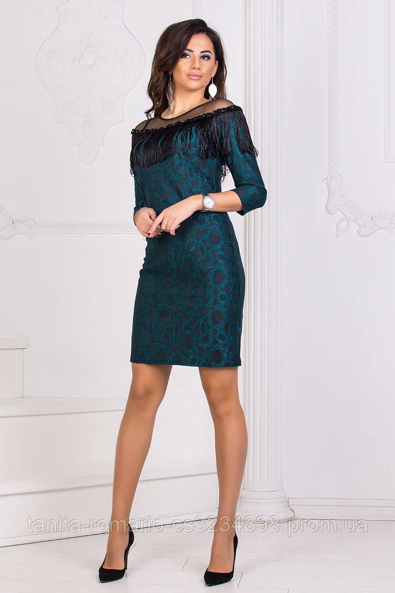 Коктейльное платье 8185e Бутылка S M L