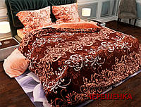 """Двуспальный набор постельного белья 180*220 из Бязи """"Gold"""" №151176AB Черешенка™"""