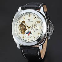 Часы наручные мужские FORSINING DN Silver скелетон М164