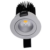 LED встраиваемый светильник IP20, Световые технологии EOS 13 WH D45 3000K [1693000170], фото 1