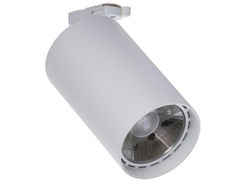 LED Трековый светильник IP20, Световые технологии TILE T 09 WH D45 3000K [1445000100]