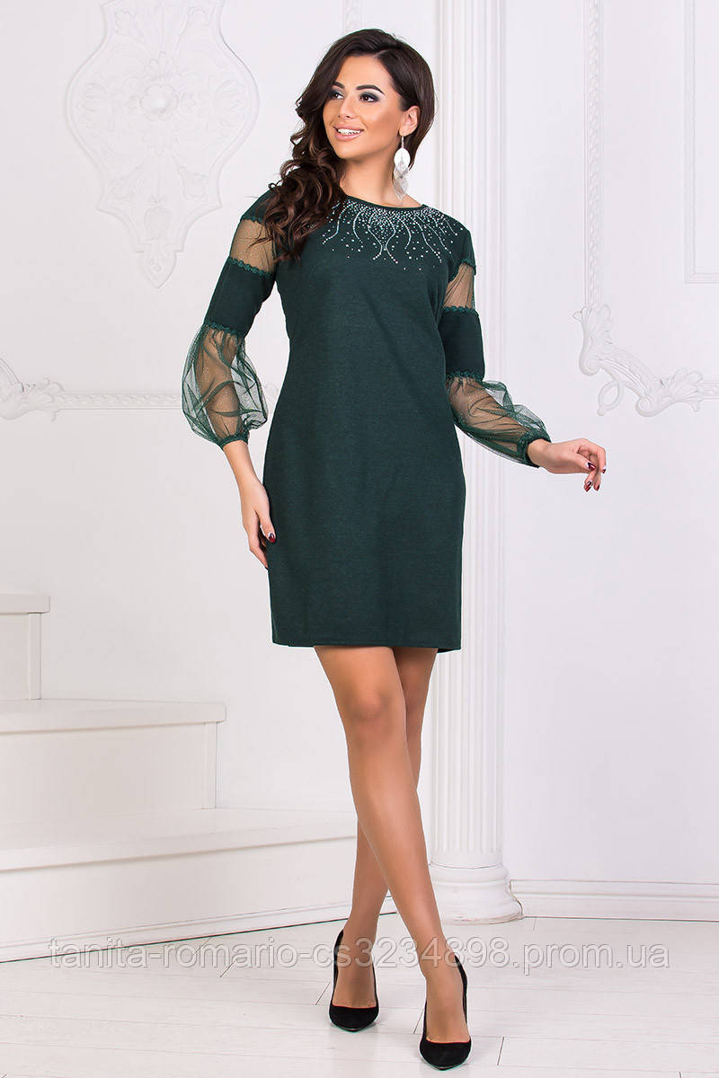 Коктейльное платье 8175e Бутылка S M L