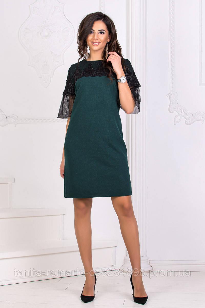 Коктейльное платье 8173e Бутылка S M L