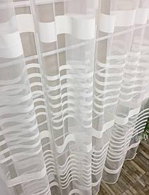 Тюль Линия Бриллиант Молочная, 3 метра