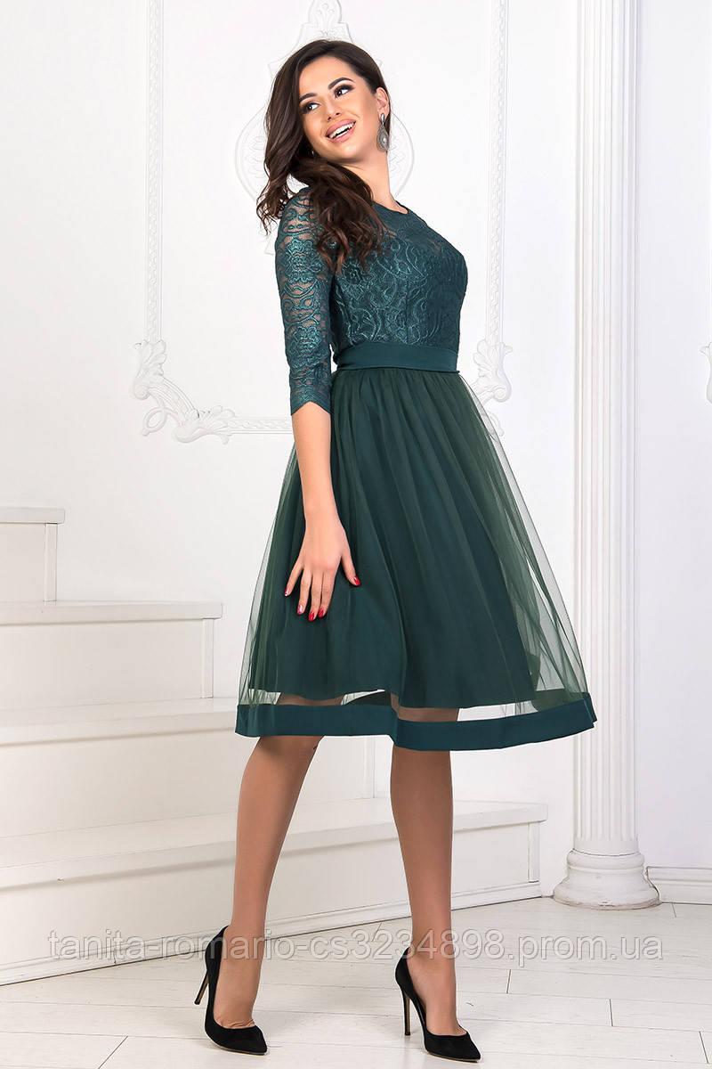 Коктейльное платье 8160e Бутылка S M L