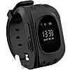 Детские телефон-часы с GPS трекером Smart Watch Q50 Black, фото 2