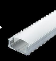 Комплект профиль Biom алюм. ЛП7 неанод + рассеиватель