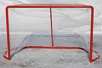 Сітка для хокею з шайбою ПА40х2.6 (комплект 2шт) сетка безузловая хоккейная