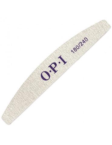 Пилка для ногтей OPI 180/240, серая