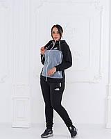 Теплый спортивный костюм женский Турецкая трехнитка с начесом Размер 48 50 52 54, фото 1