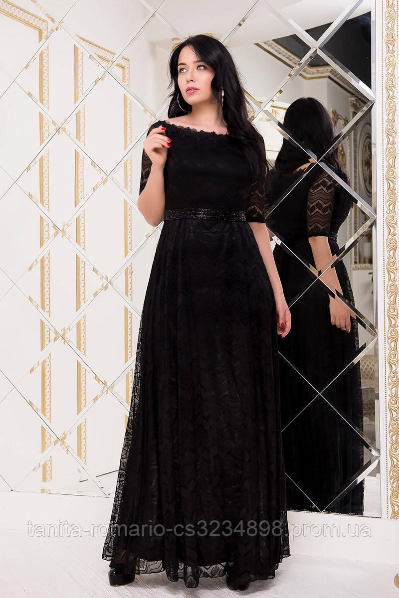 Вечернее платье 7215e batal Чёрный   XL 2XL