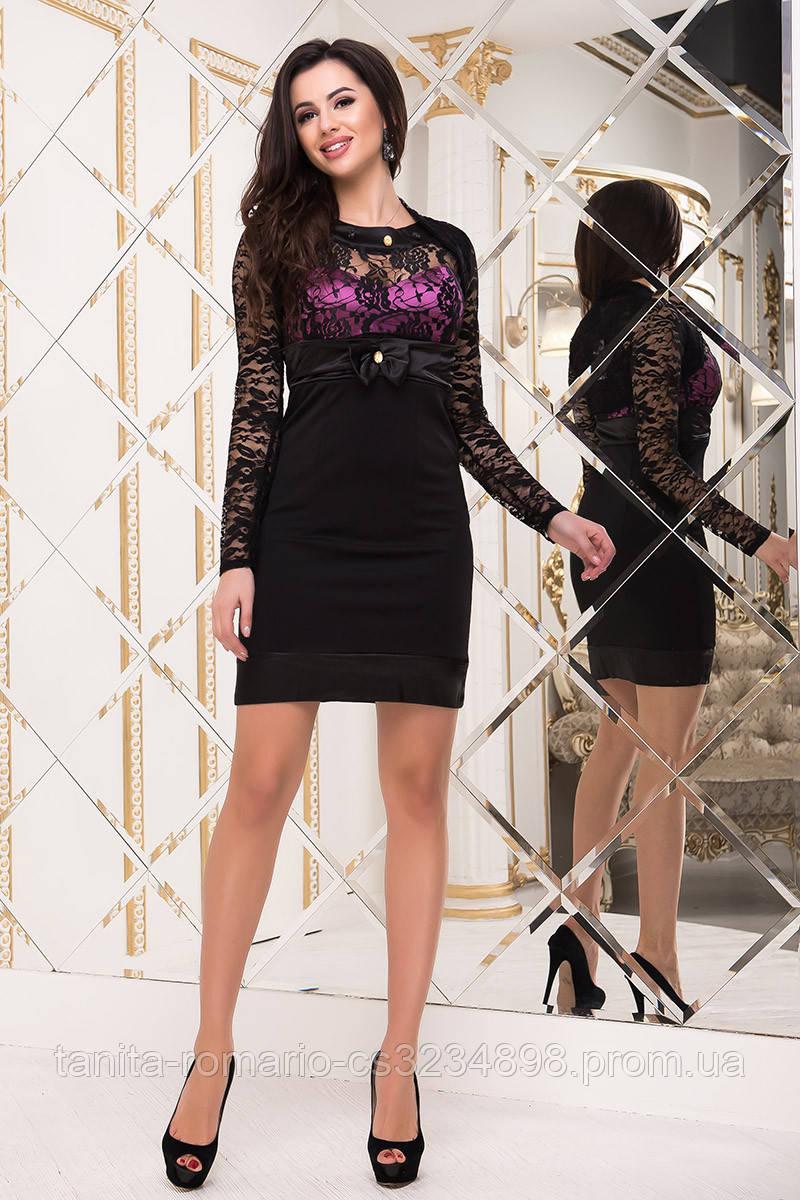 Коктейльное платье 1300e Сиреневый M(р)
